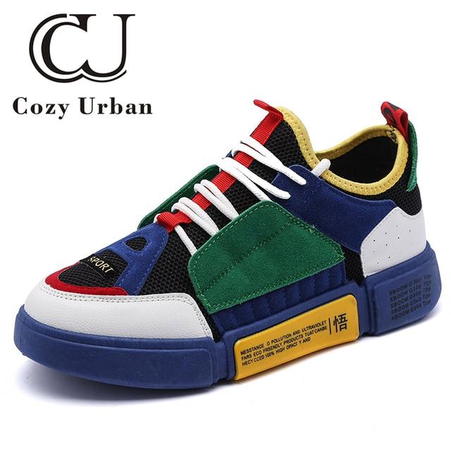 a5ec4ac217fc Cozy Urban 2018 fashion shoes 2018 men designer sneakers shoes for male