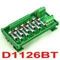 DIN Рейку 10 Позиция Распределения Питания Предохранитель Модуль Доска, для AC230V.
