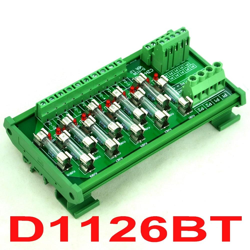Mount, Power, Distribution, Rail, Fuse, Module