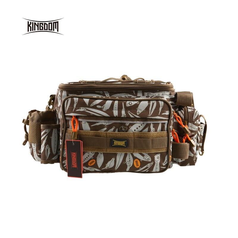 Uni pêche Étanche sac de pêche Multifonctionnel En Plein Air Réglable Face Taille Épaule Sangle De Transport Taille Pack lyb-13 - 5