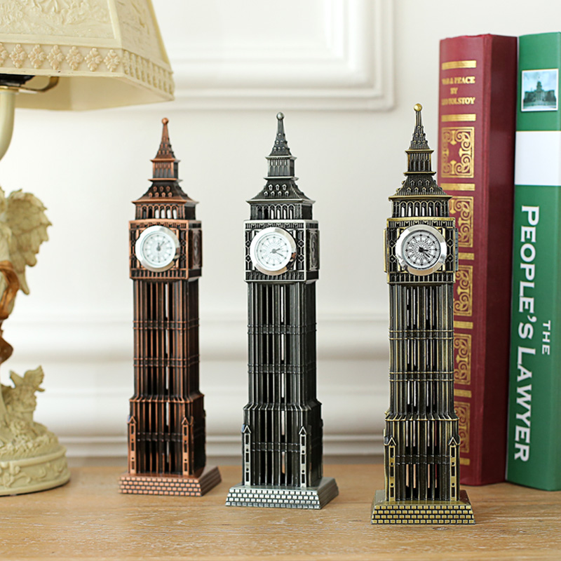 A large British tourist souvenirs London landmark Big Ben classic - Home Decor - Photo 2