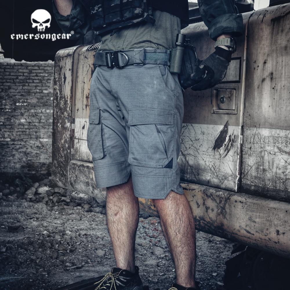 Sportbekleidung Emersonngear Emerson Blue Label Taktische Kampf Shorts Ergonomische Passform Outdoor Shorts Wandern Schießen Shorts Jagdhosen