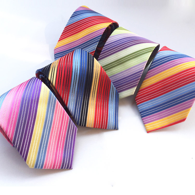 Man New Fashion Accessories  Necktie High Quality 8cm Men's Ties Casual