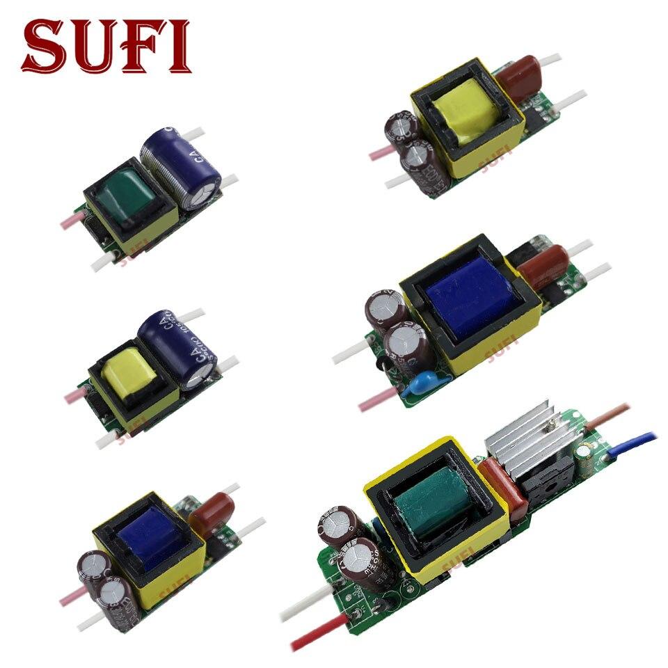 5pcs Led Driver Built In 300ma 450ma 600ma 900ma Lighting 1w Circuit Transformers 3w 5w 10w 12w 20w 30w 36w 40w 50w For Diy Lamps From