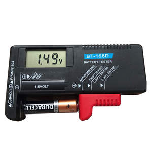 Battery-Tester-Battery Diagnostic-Tool Lcd-Display Universal-Tester Capacitance BT-168D