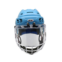 GY Ice Hockey Helmets & Face Mask Combos Equipment Sweeping View with High Impact Resistant Breathable and Soft for Youth 098-C8