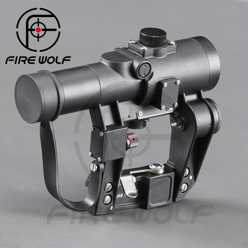 FIRE WOLF Recoil Resistant Svd Red dot scope SVD 1x24 Scope For Hunting