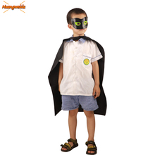 Ladybug Cosplay Costumes Kids Cat Noir Halloween Christmas Costume For Boys Marinette Party Superman Cloak