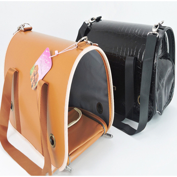 Backpack To Carry Leather Dog Transport Box Bag Pet Shipping Crate Borse Per Cani Chihuahua Pet Dog Bag Handbags Supplies DDM980