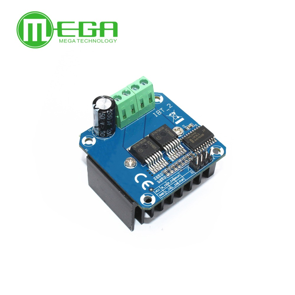 Integrated Circuits High-power Smart Car Motor Drive Module Bts7960 43a Semiconductor Refrigeration Drive Electronic Components & Supplies