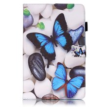 Dreaming Paint PU Leather Stand Case Cover For Samsung Galaxy Tab E T560 T561 Tablet Case For Samsung Tab E 9.6 SM-T560 SM-T561