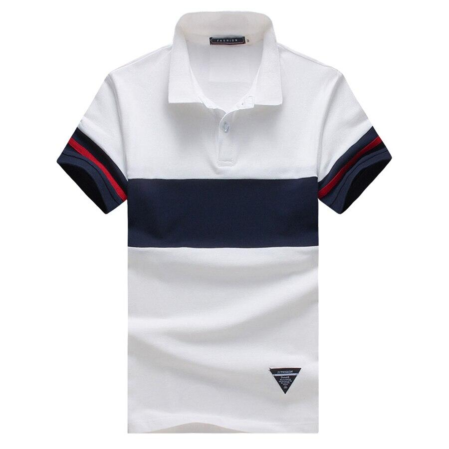New Fashion 2017 Brand font b Men b font font b Polo b font Shirt Contrast