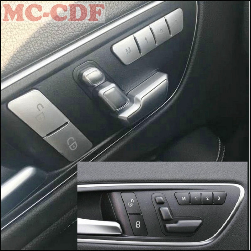 Door Seat Adjust Buttons Switch For Mercedes Benz C-Class,E-Class,GLK,GLE,GLS.