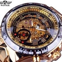 Winner Women Mechanical Watches Luxury Gold Automatic