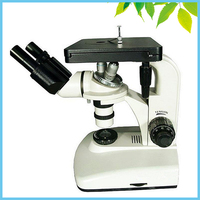 100X 1250X Binocular Metallurgical Inverted Metallographic Microscope with Kohlar Illumination System and Filter