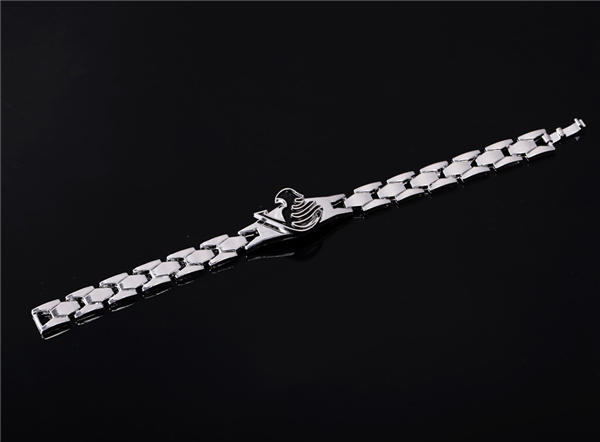 Hot anime Fairy Tail black charm bracelet Cosplay Accessories Metal Bangle