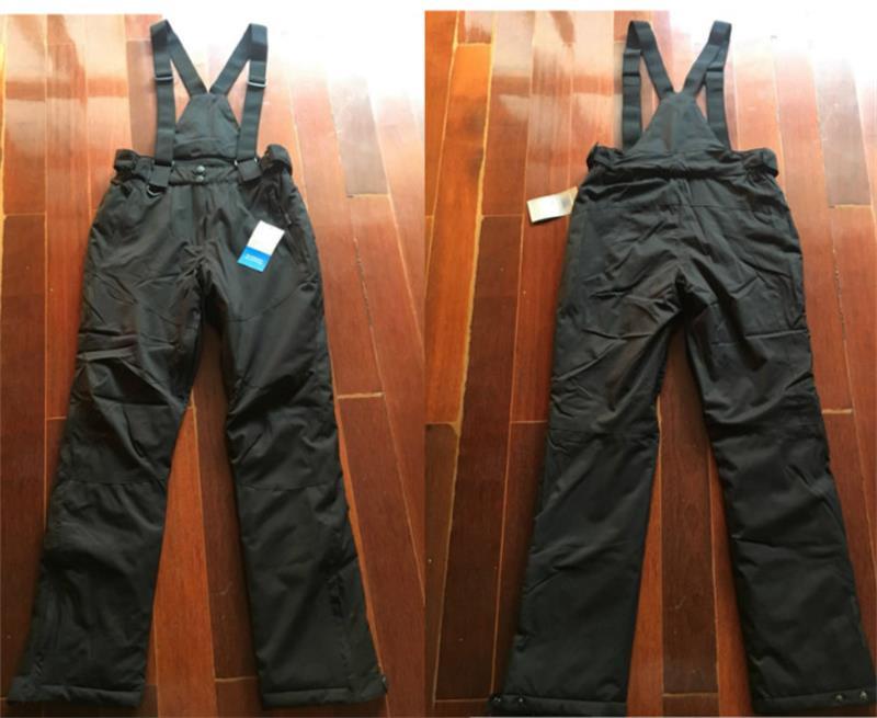 SALE+HIGH QUALITY -30 Degree Thermal Ski Pants Women 10000mm Waterproof Female Ski Snowboard Pants Snow Suspenders Trousers