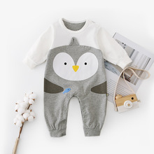 Cute Cartoon Style Baby Rompers Long Sleeve Newborn Bebes Boys Girls Jumpsuits Tiny Cotton Toddler Infant Outfits One Piece Wear