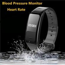 Bluetooth Smart Band артериального давления и монитор сердечного ритма браслет водонепроницаемый браслет сна трекер для спорта фитнес-3