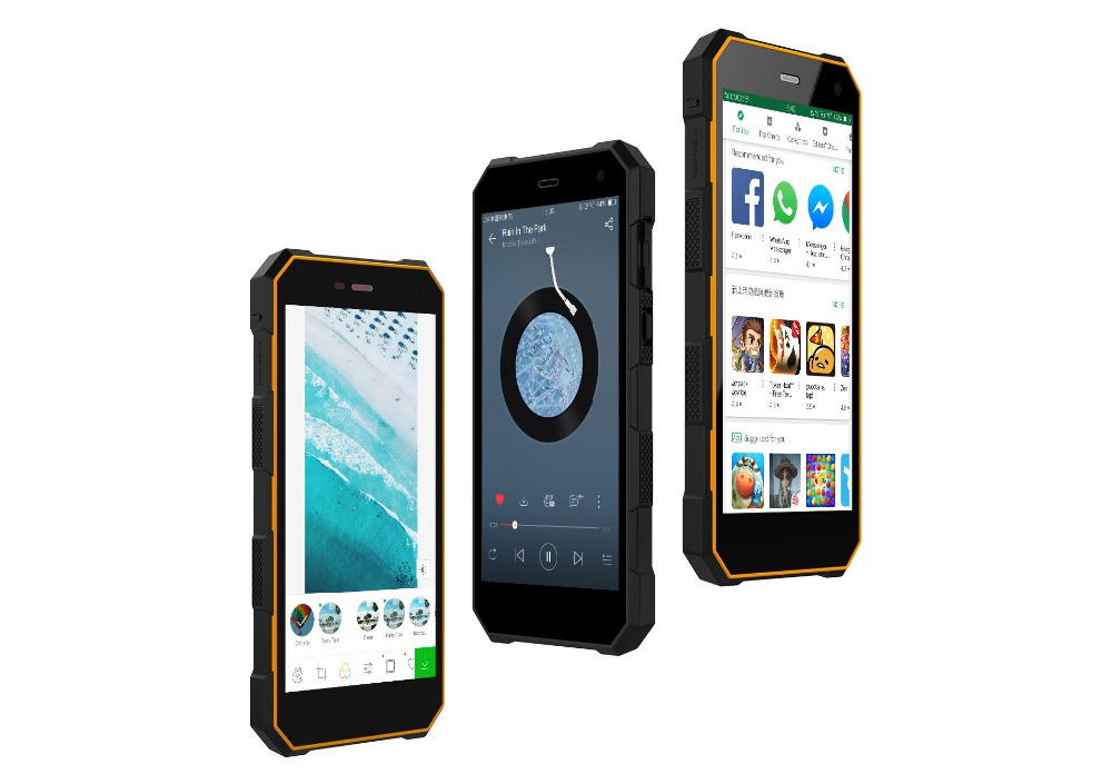 """Nomu S10 Pro IP68 Waterproof Smartphone MTK6737T Quad Core Android 7.0 5000mAh Fast Charge 3GB+32GB 5.0"""" Shockproof mobile phone"""