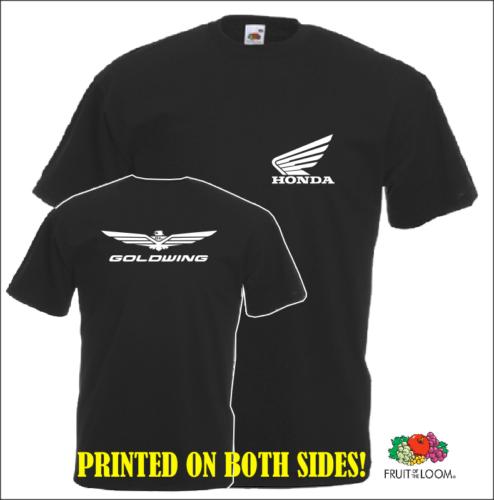 2018 New Casual Cool Tee Shirt Japan Motorcycles Goldwing T-shirt Gold Wing Shirt Hot Sale T-shirt