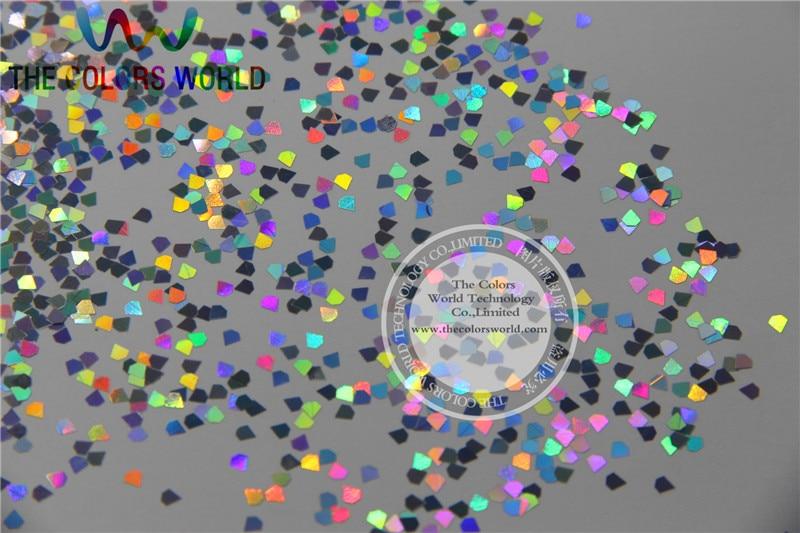 mm laser holografico prata cor diamante paillette 05