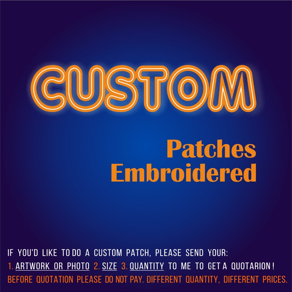 New Arrival Custom Patch Embroidered Patches Of 3D Embroidery Customization Iron On Or Hook For You Logo Clothing Eco-Friendly