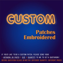 Baru Kedatangan Kustom Patch Patch Bordir dari 3D Bordir Kustomisasi Besi  atau Hook untuk Anda Logo Pakaian Ramah Lingkungan 99b7520c70