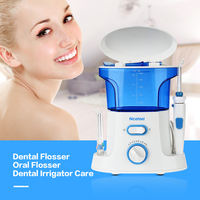 Nicefeel Dental Flosser Water Oral Flosser Dental Irrigator Care 600ml Oral Hygiene Dental Care Flossing Set