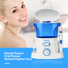 Nicefeel Dental Flosser Water Oral Flosser Dental Irrigator Care 600ml Oral Hygiene Dental Care Flossing Set Oral Teeth Cleaner