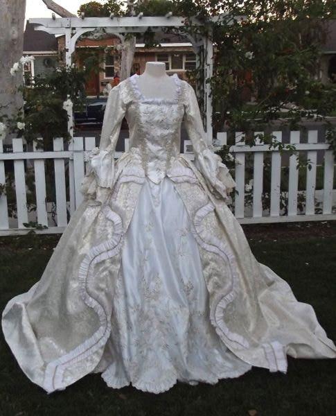 Livraison gratuite! En vente R-081 19 siècle Victorienne Gothique Lolita/Guerre Civile Southern belle Halloween Ball robes Sz US 6-26 XS-6XL