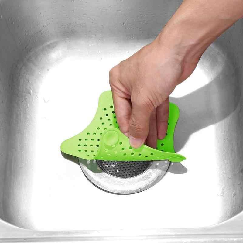 PVC New ファッションキッチンバスルームのシンクフィルター下水道排水髪水切りストレーナー緑の安全で健康世帯のクリーニングツール