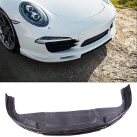 VO R Style Carbon fiber Front Lip Spoiler Fit For Porsche 911 Carrera991.1
