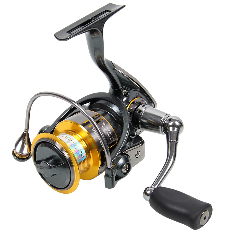 Trulinoya 800 1000 2000 Spinning Fishing Reel 9+1BB/ 5.2:1/5kg Metal Spool Screw in Handle with spare spool Molinete Para Pesca trulinoya distant wheel 7 1bb 4 9 1 full metal jig ocean boat sea trolling reel carretes pesca spinning fishing reel molinete
