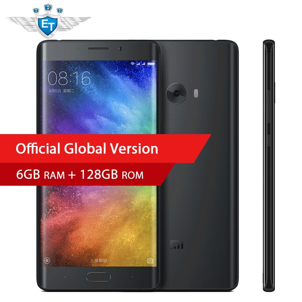 bilder für Original Xiaomi MI Hinweis 2 Prime Smartphone 5,7 Zoll 6 GB 128 GB Snapdragon 821 Quad Core 22.56MP Kamera ID NFC OTA Globale Version