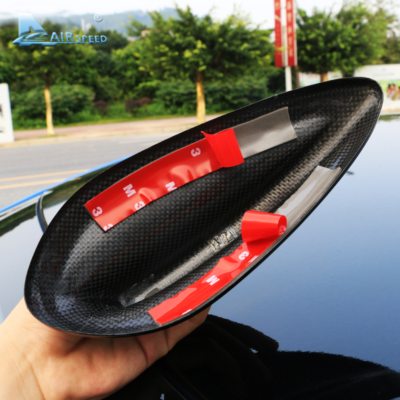 Image 3 - Airspeed for BMW E90 E92 M3 F20 F30 F10 F34 G30 M5 F15 F16 F21 F45 F56 F01 Accessories Carbon Fiber Shark Fin Antenna Cover Trim-in Car Stickers from Automobiles & Motorcycles