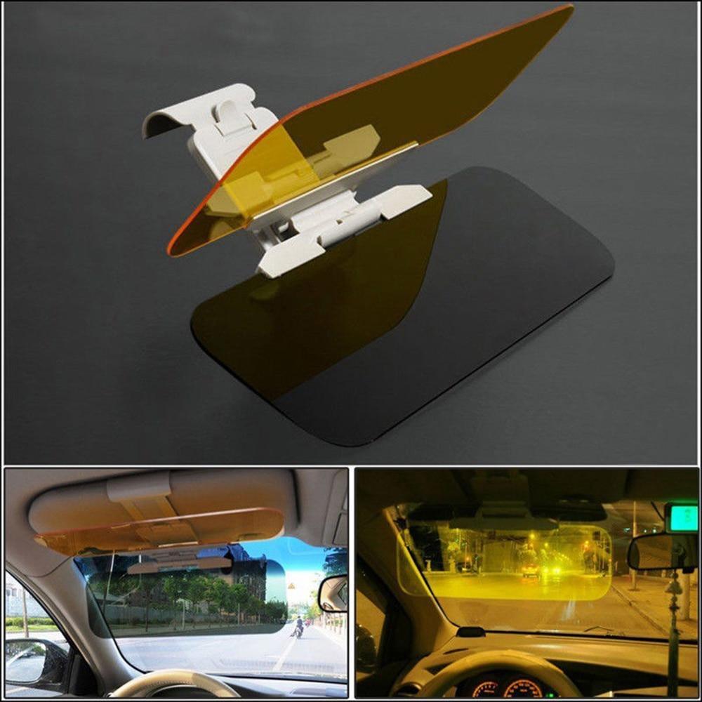 2in1 Car Transparent Anti-glare Glass HD Car Sun Visor Extender Day Night  Driving Mirrors Vehicle Clear View Glass 8ba06e6b5da