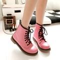 2015 maré sapatos mulheres moda botas dedo do pé redondo Primavera e No Outono estilo Inglaterra Cavaleiro botas botas femininas cavaleiro novo DT607