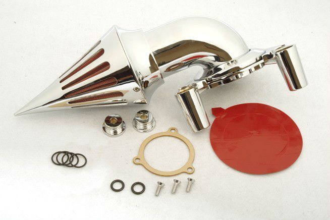 Aftermarket Motorcycle Parts Spike Air Cleaner Intake Kits For Harley Davidson 1991-2006  XL models sportstar Chrome aftermarket motorcycle parts chrome spike air cleaner for yamaha road star 1600 xv1600a 1700 xv1700 1999 2012