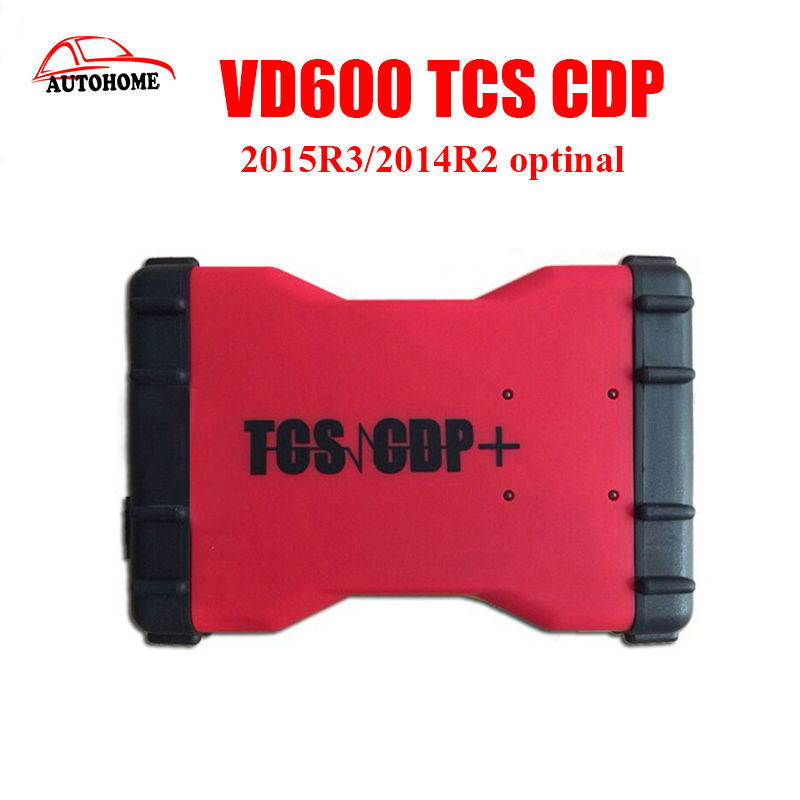 2pcs/lot VD600 TCS CDP Pro 2015R3/2014R2 optinal with TF card inside support multi-language TCS CDP Pro VD600 without Bluetooth multi language professional diagnostic scanner same function as tcs cdp plus scanner multidiag pro tf card bluetooth v2015 3