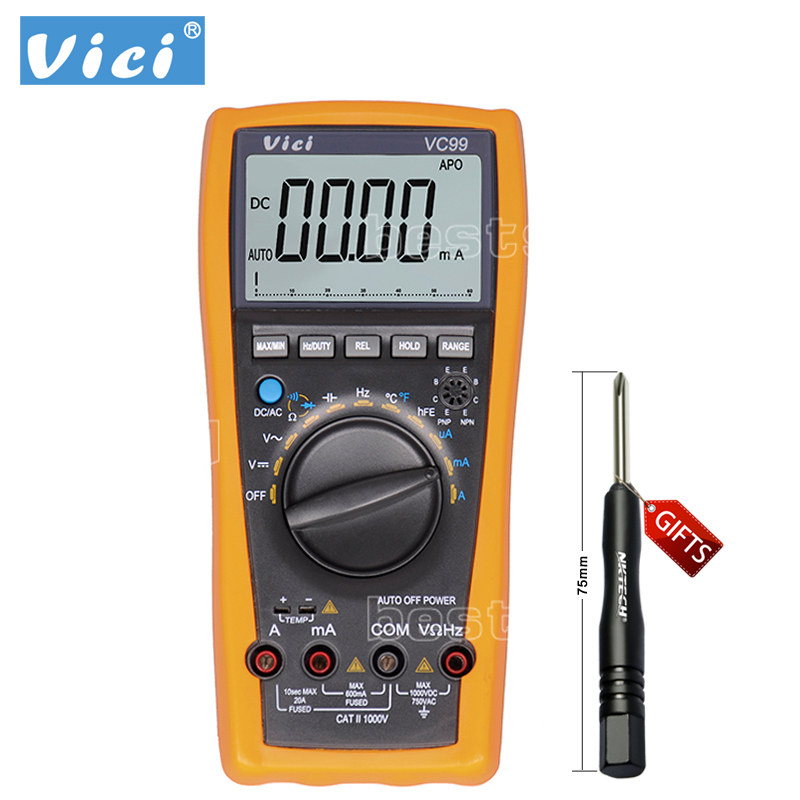 Digital Multimeter Symbols : Vichy vc auto range digital multimeter ammeter