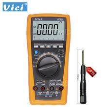 VICHY VC99 3 6/7 Авто Диапазон Цифровой мультиметр Амперметр Вольтметр температура тестер блок символ 61 выбор аналоговых бар дисплей
