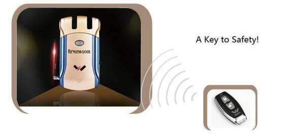 315 Mhz Wireless Unlock Remote Controll For WAFU WF-008 Invisible Smart Lock