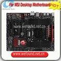 100% trabalho x99s gaming 7 motherboard de desktop motherboard para msi, socket 2011 v3, chipset x99, trabalho ddr4 perfeitamente