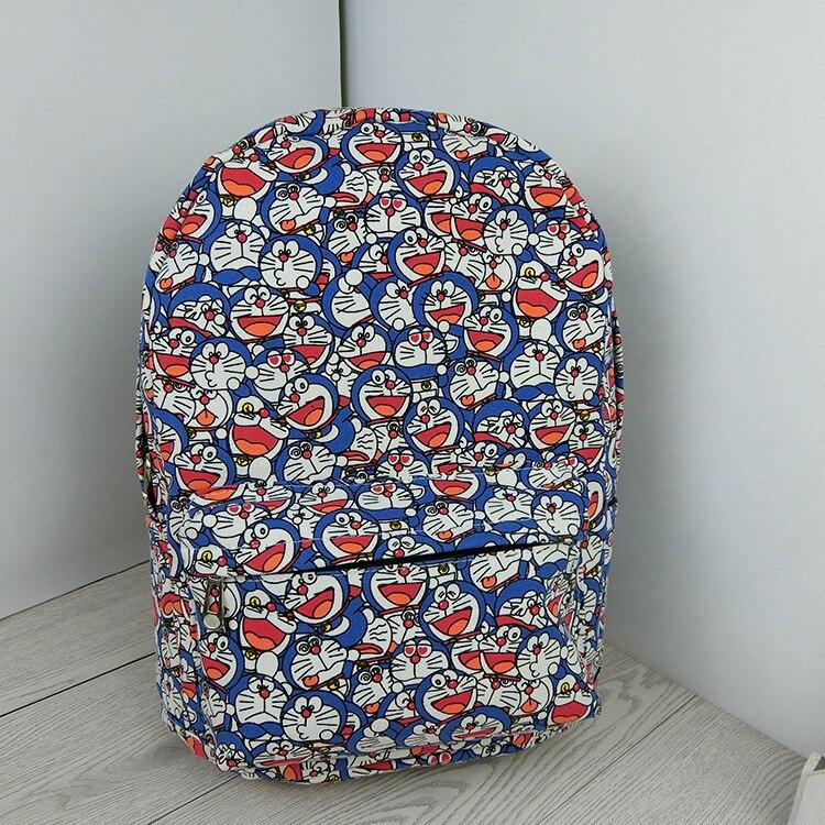 Cartoon anime Doraemon Backpacks for Children Boys Girls Rucksack Primary Students School Bag Mochila package