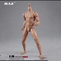 כתף רחבה BD004 זכר 1/6 צעצועי מודל דמות פעולה בקנה מידה גוף של גברים שריריים 2.0 אוספים מודל על 27 ס