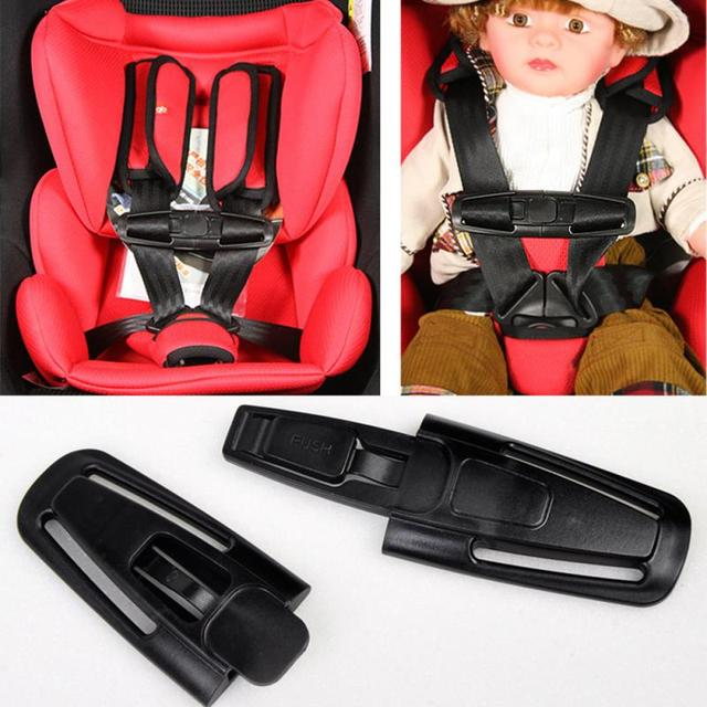 Baby Kid Child Safety Car Seat Belt Clip Harness Chest Buckle Latch Nylon