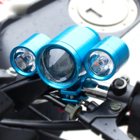 New Motorcycle Headlight LED Driving Fog Light Super Bright Front Lights Bulb Motorcycle Electric Vehicle Spotlight