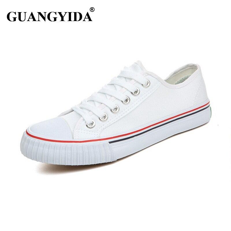 Classic Hombres zapatos Zapatos Casuales de La Moda  Negro Blanco Azul Rojo de L