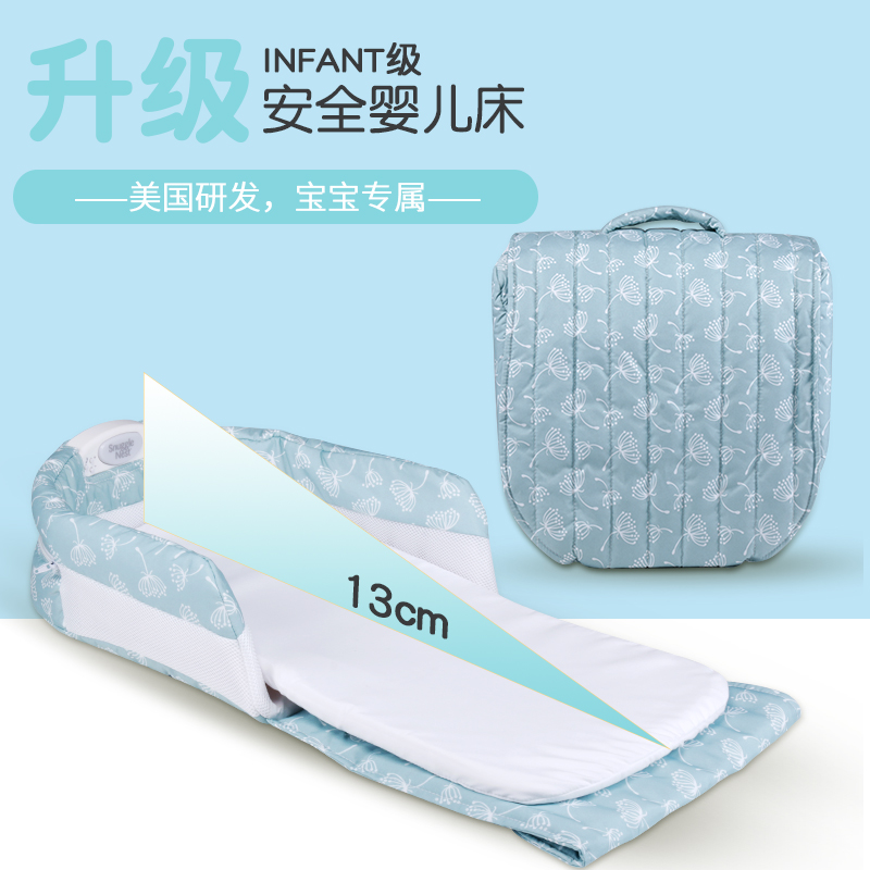 Newborn baby bed portable bed baby crib bb infant sleeping basket travel folding bed цена 2017